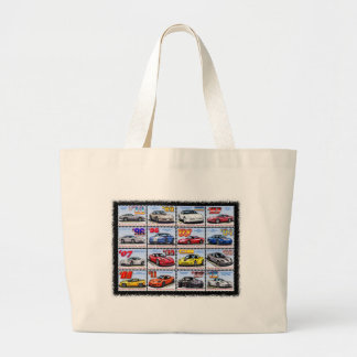 1978-2013 Special Edition Corvette Montage Jumbo Tote Bag