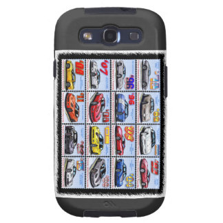 1978-2013 Special Edition Corvette Montage Samsung Galaxy SIII Covers