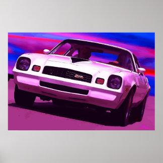 1978 Chevy Camaro Z28 Print