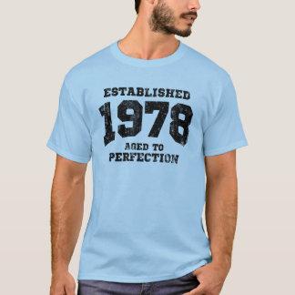 1978 establecidos envejecidos a la perfección playera
