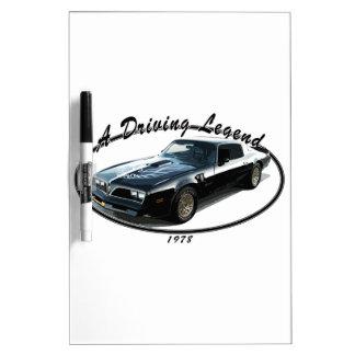 1978_firebird_black01 Dry-Erase board