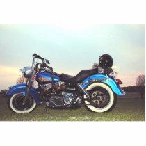 1978 Harley Davidson FLH Cutout