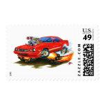 1979-81 Camaro Z28 Red Car Postage Stamp