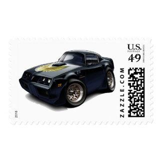 1979-81 Trans Am Black Car Postage