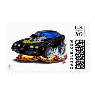 1979-81 Trans Am Black-Gold Car Postage
