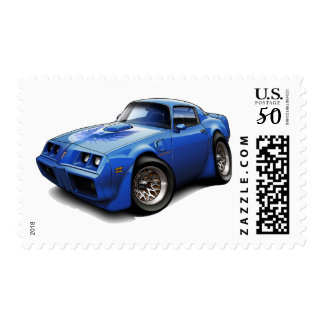 1979-81 Trans Am Blue Car Postage