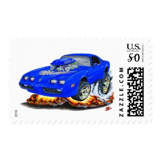 1979-81 Trans Am Blue-Grey Car Postage