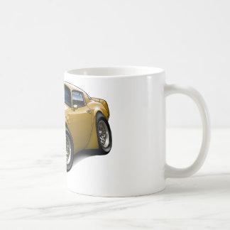 1979-81 Trans Am Gold Car Coffee Mug