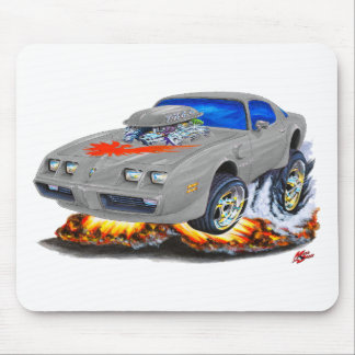1979-81 Trans Am Grey-Red Car Mouse Pad