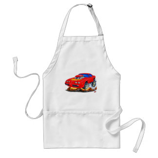 1979-81 Trans Am Red Car Adult Apron