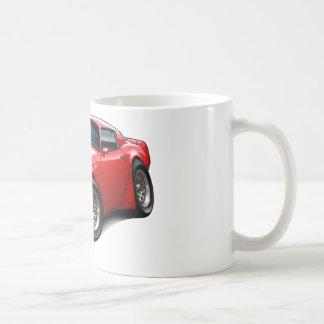 1979-81 Trans Am Red Car Coffee Mug