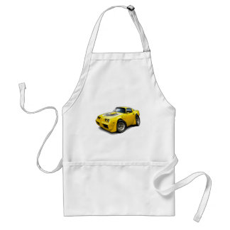 1979-81 Trans Am Yellow Car Adult Apron