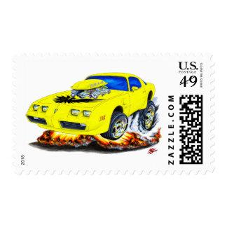 1979-81 Trans Am Yellow Car Postage