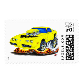 1979-81 Trans Am Yellow Car Postage