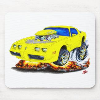 1979-81 Trans Am Yellow-Grey Car Mouse Pad