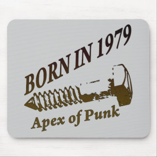 1979, Apex of Punk Mouse Pad