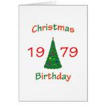 1979 Christmas Birthday Cards