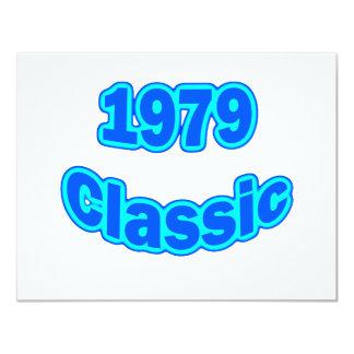 1979 Classic Blue Card