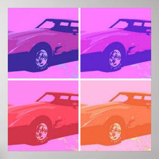 1979 coches clásicos póster