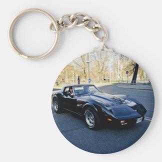 1979 Corvette Classic Sportscar Keychain