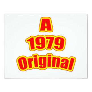 1979 Original Red Card
