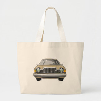 1979 Pacer Front Large Tote Bag