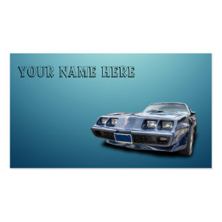 1979 PONTIAC FIREBIRD Double-Sided STANDARD BUSINESS CARDS (Pack OF 100)