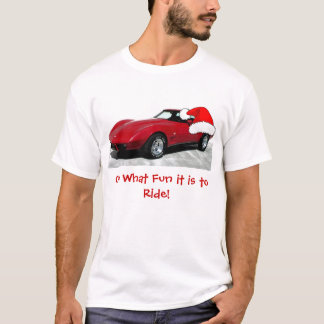 1979 Red Christmas Corvette T-Shirt