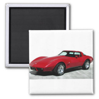 1979 Red Classic Car Magnet