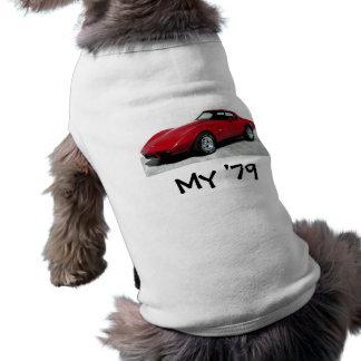 1979 Red Corvette Classic Doggie Tee