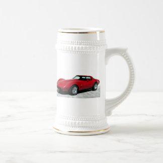 1979 Red Corvette Classic Coffee Mugs