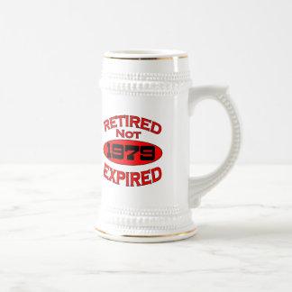 1979 Retirement Year Beer Stein