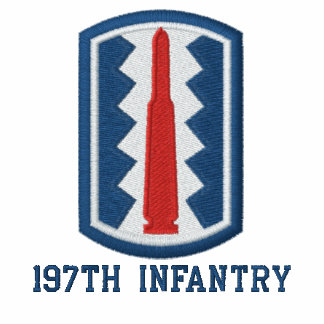 197th Infantry Embroidered Polo Shirt