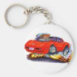 1980-82 Corvette Red Car Keychain