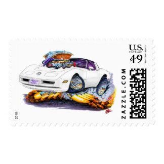1980-82 Corvette White Car Postage