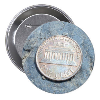 1980 American Penny (Front) Button