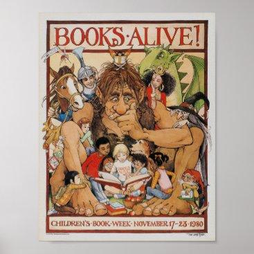 Childrens_Book_Week 1980 Children's Book Week Poster