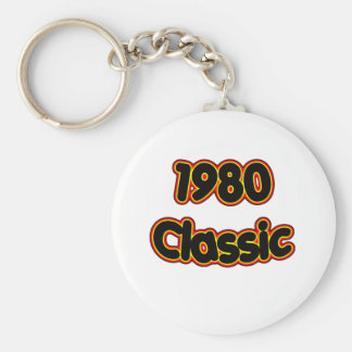 1980 Classic Keychain