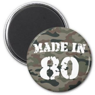 1980 Made in 80 Fridge Magnet