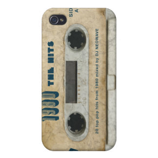 1980 The Hits - Vintage cassette iphone 4/4s skin Cover For iPhone 4
