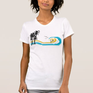 1980MauiPalm Tree T T-Shirt