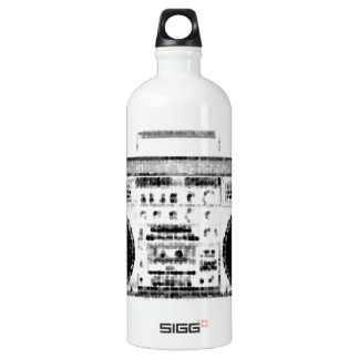 1980s Boombox Aluminum Water Bottle