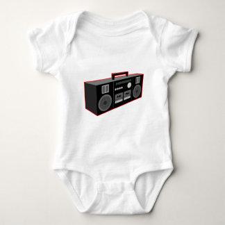 1980s Boombox Baby Bodysuit