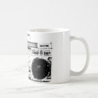 1980s Boombox Coffee Mug