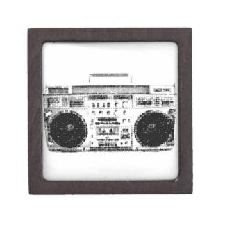 1980s Boombox Gift Box