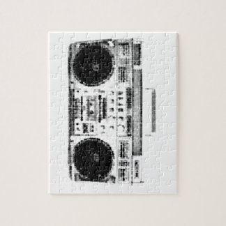 1980s Boombox Jigsaw Puzzle