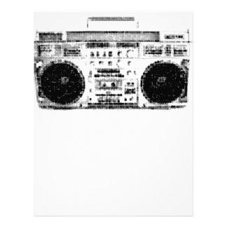 1980s Boombox Letterhead