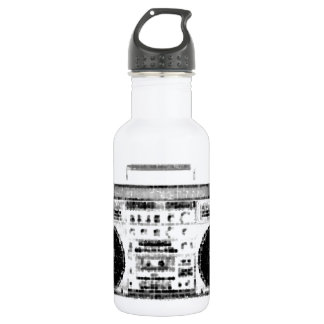1980s Boombox Stainless Steel Water Bottle