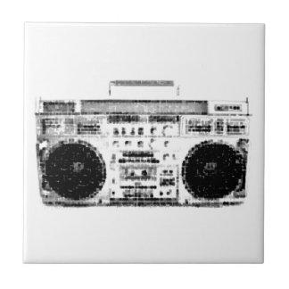 1980s Boombox Tile