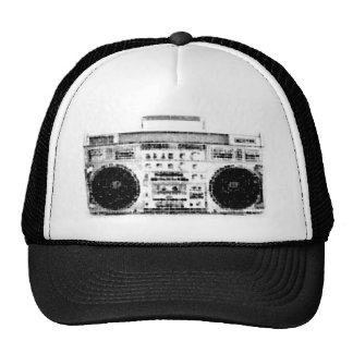 1980s Boombox Trucker Hat